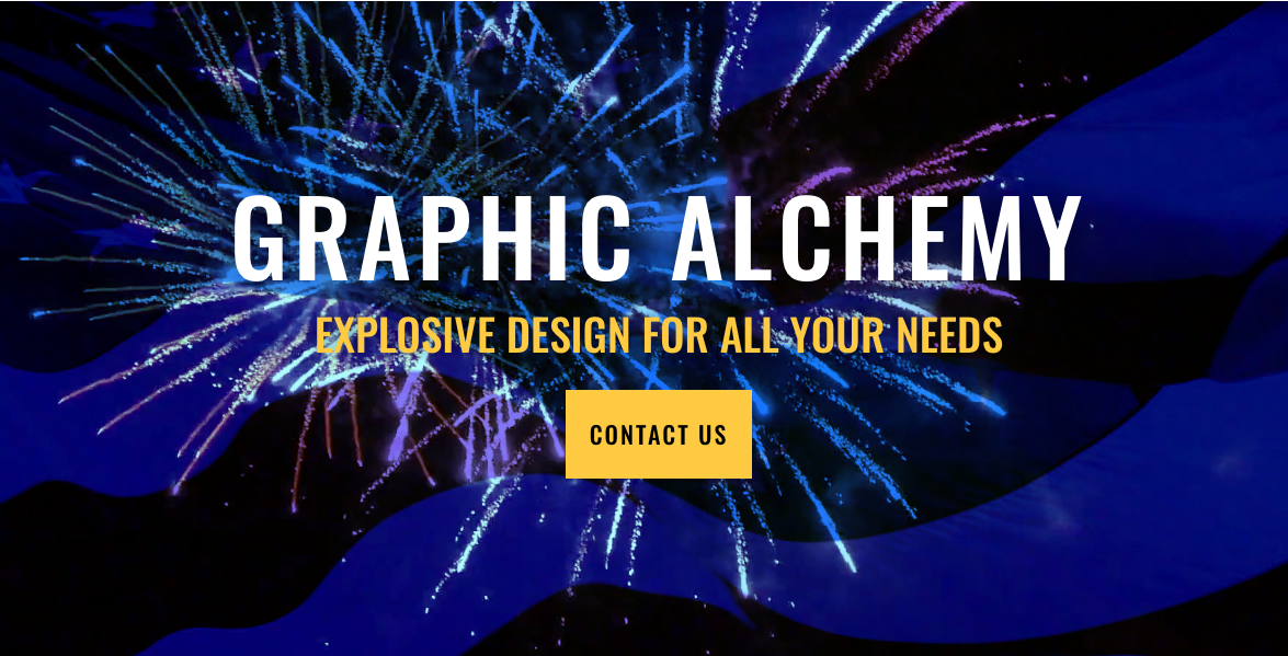 Graphic Alchemy, explosive design for all your needs