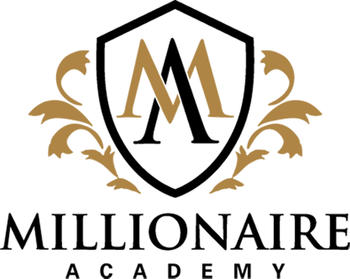 millionaire academy logo design graphic alchemy