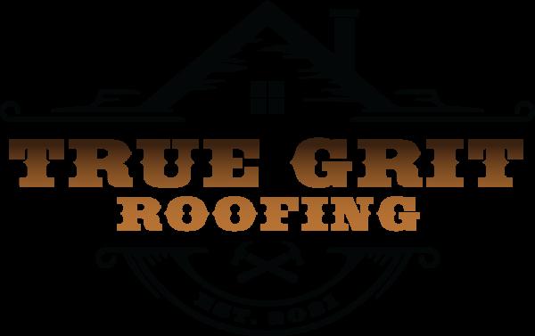 true grit roofing logo design graphic alchemy