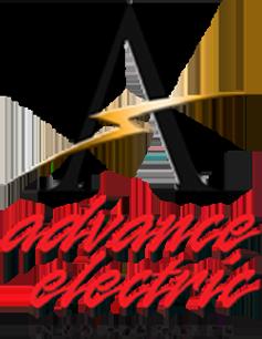 advance electric logo design graphic alchemy