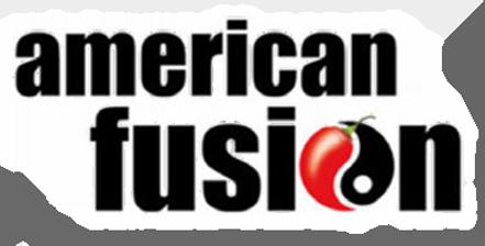 american fusion logo design graphic alchemy