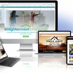 custom wordpress website design near me