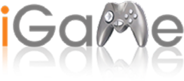 iGame logo design graphic alchemy