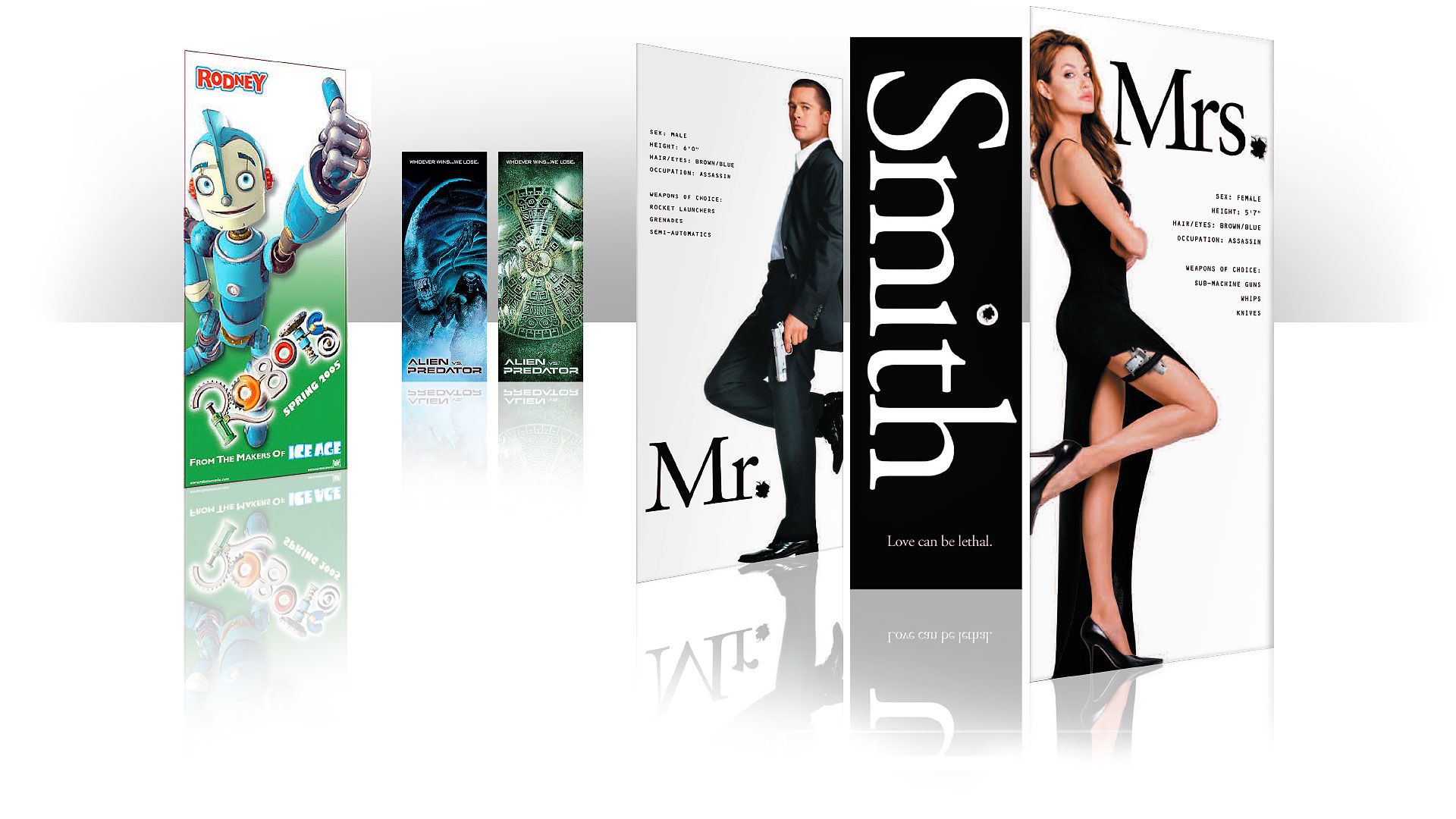 movie banners theatre collateral graphic alchemy