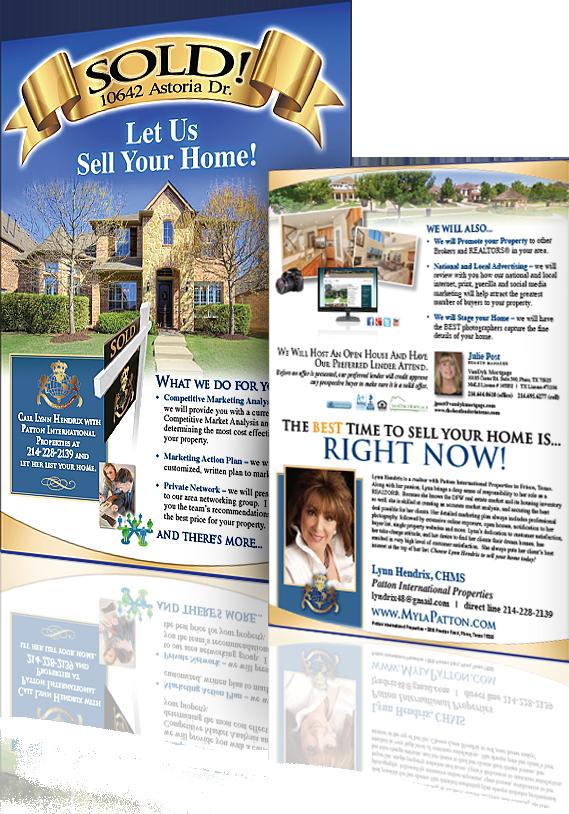 real estate flyer design near me