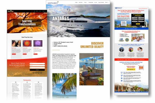 custom websites for small business