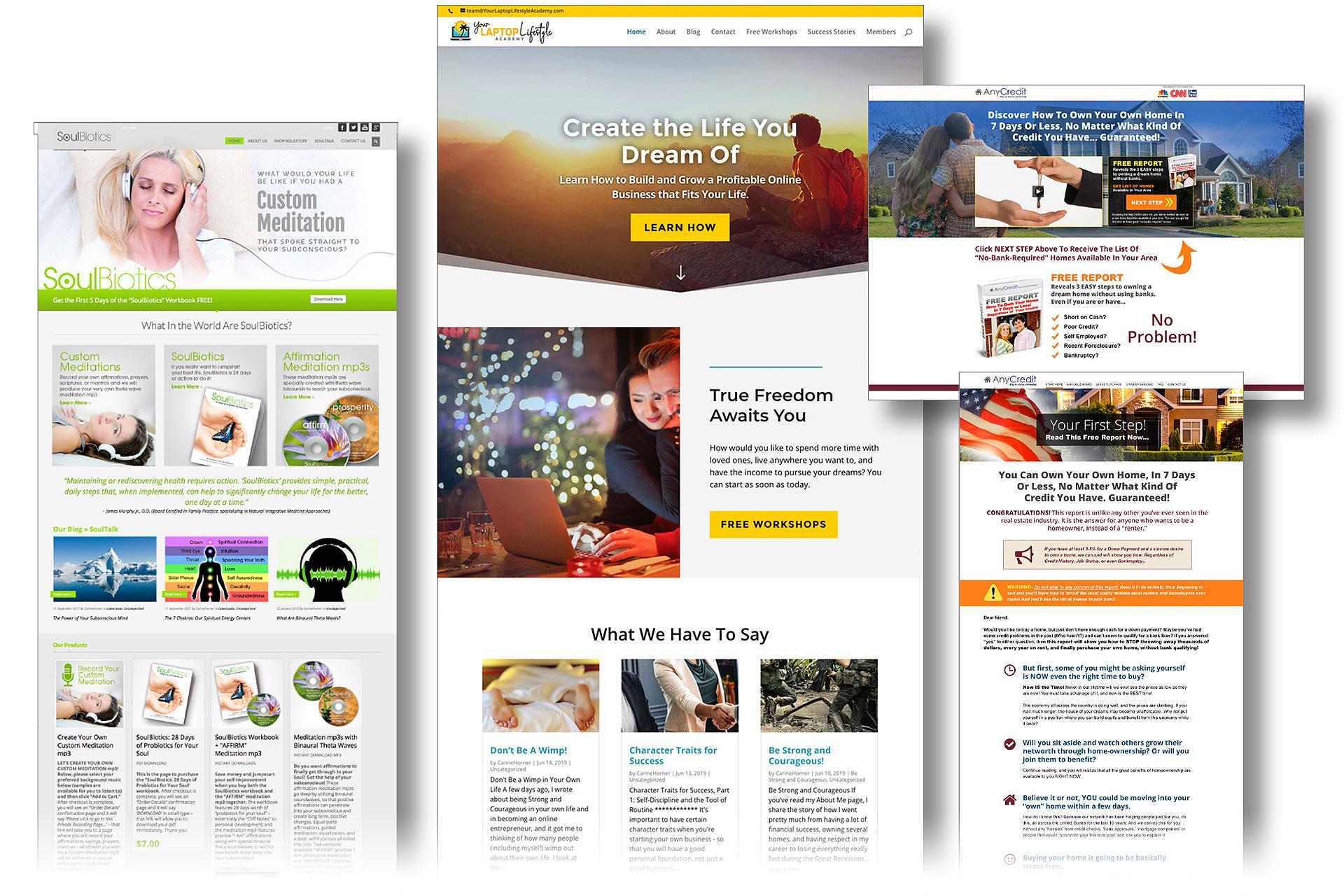 custom wordpress website design graphic alchemy